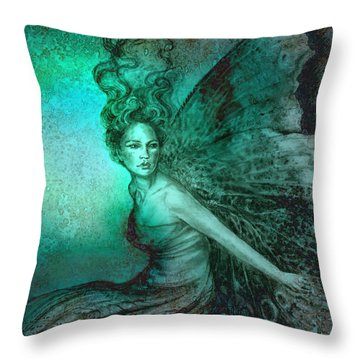 Dream Fairy Throw Pillow