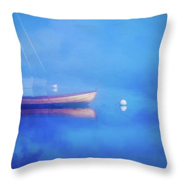 Dream Fog Throw Pillow