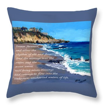 Dream Forward Throw Pillow