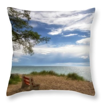 Throw Pillow featuring the photograph Dream by Heather Kenward
