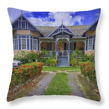 Dream House Throw Pillow