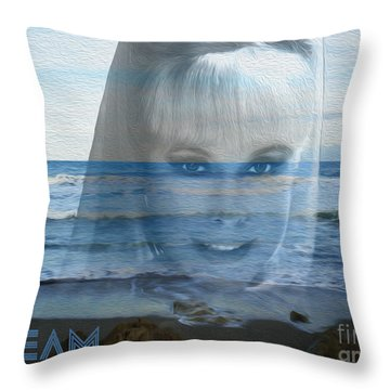 Dream Throw Pillow by Megan Dirsa-DuBois