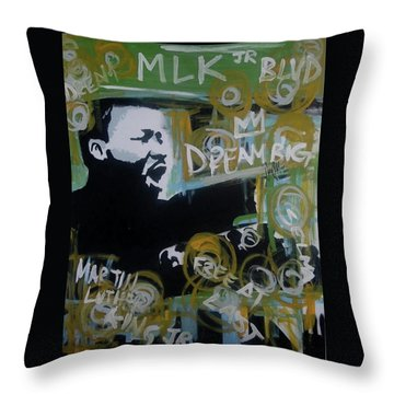 Dream Moore Throw Pillow