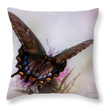 Dream Of A Butterfly Throw Pillow by Rima Biswas