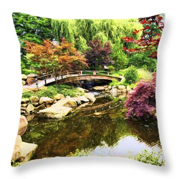 Dream Of Asia Throw Pillow