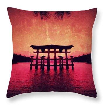 Dream Of Japan Throw Pillow