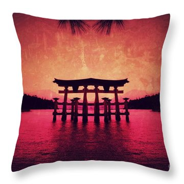 Dream Of Japan Throw Pillow
