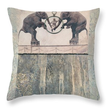 Dream Of Love Throw Pillow by Casey Rasmussen White