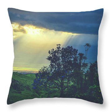 Throw Pillow featuring the photograph Dream Of Mortal Bliss by Sharon Mau