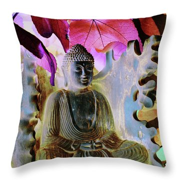 Dream Of Peace Come True Throw Pillow