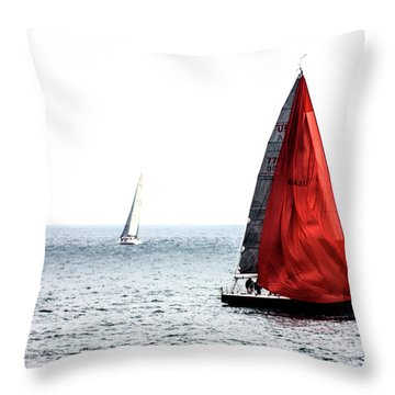 Dream Of Red Throw Pillow