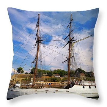 Dream On The Fjord Throw Pillow