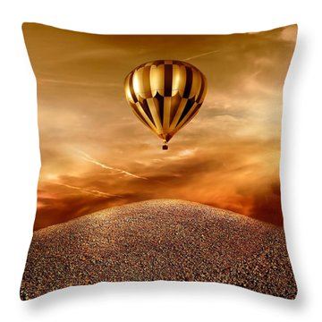 Dream Throw Pillow by Jacky Gerritsen
