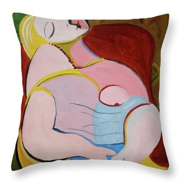 Dream Throw Pillow by Sheep McTavish