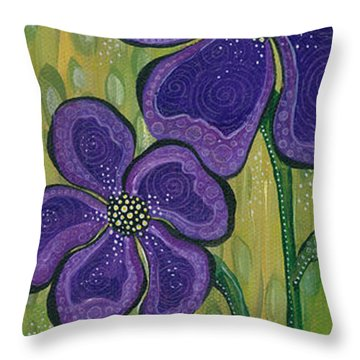 Dream Throw Pillow by Tanielle Childers