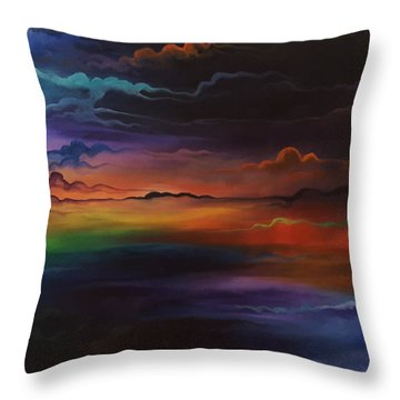 Dream Tiers Throw Pillow