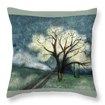 Dream Tree Throw Pillow