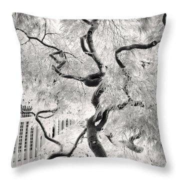 Dream Tree Throw Pillow by Dorit Fuhg