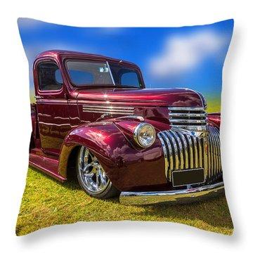 Dream Truck Throw Pillow