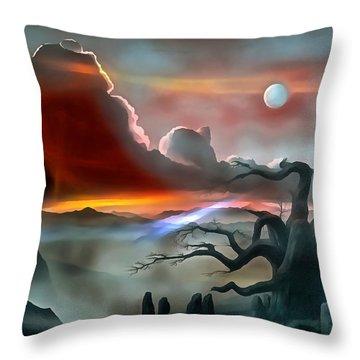 Dream Visions Throw Pillow