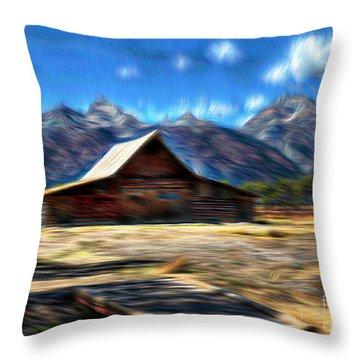 Dream World Throw Pillow