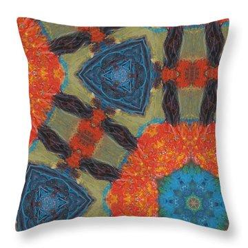 Dreamcatcher II Throw Pillow by Maria Watt