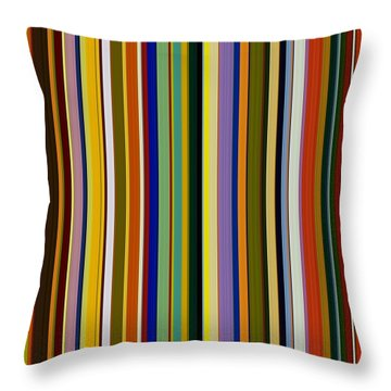Dreamcoat Designs Throw Pillow by Michelle Calkins