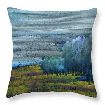 Dreamed Among All Throw Pillow by R Kyllo