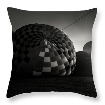 Dreamers Of A Dream Throw Pillow by Jorge Maia