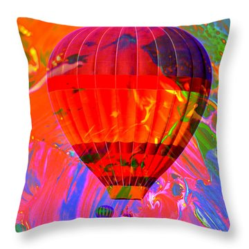 Throw Pillow featuring the photograph Dreaming Across The Sky by Jeff Swan