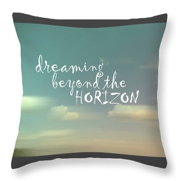 Throw Pillow featuring the photograph Dreaming by Ann Powell