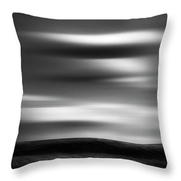 Dreaming Clouds Throw Pillow by Dan Jurak