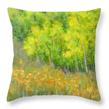 Dreaming Of Autumn Throw Pillow