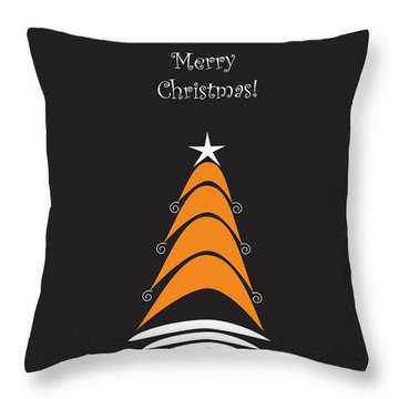 Dreaming Of Christmas Trees 2 Throw Pillow