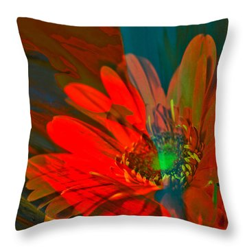 Throw Pillow featuring the photograph Dreaming Of Flowers by Jeff Swan