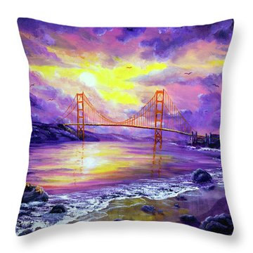 Dreaming Of San Francisco Throw Pillow