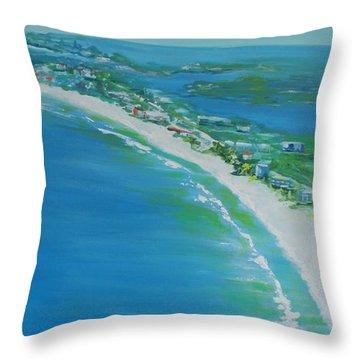 Dreaming Of Siesta Key Throw Pillow