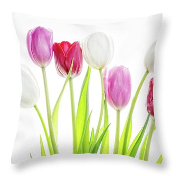 Throw Pillow featuring the photograph Dreaming Of Spring by Rebecca Cozart