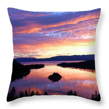 Throw Pillow featuring the photograph Dreaming Of Sunrise by Sean Sarsfield