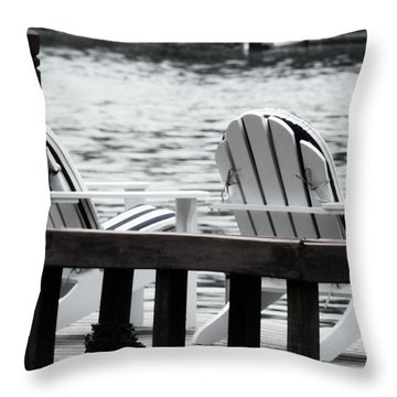Dreaming Of The Beach Throw Pillow