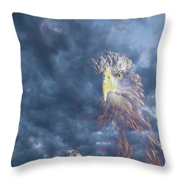 Dreaming Of The Sky Throw Pillow
