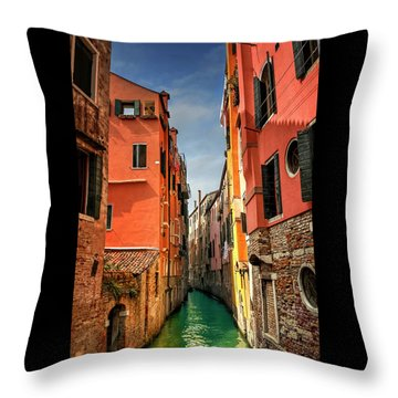 Dreaming Of Venice  Throw Pillow