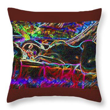 Dreaming Repose Throw Pillow