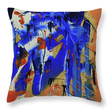 Dreaming Sunshine IIi Throw Pillow by Cathy Beharriell