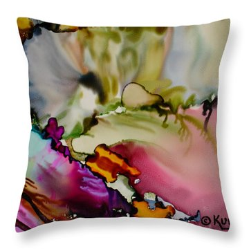 Dreaming Throw Pillow by Susan Kubes