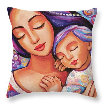 Dreaming Together Throw Pillow