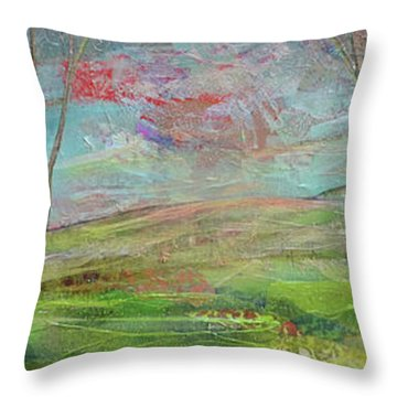 Dreaming Trees Throw Pillow