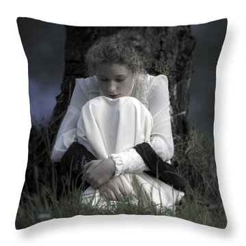 Dreaming Under A Tree Throw Pillow by Joana Kruse