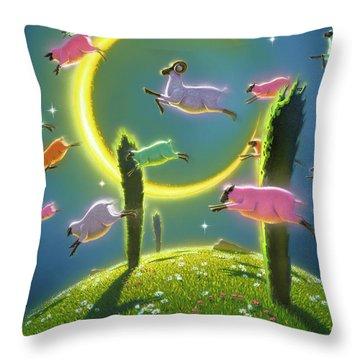 Dreamland II Throw Pillow