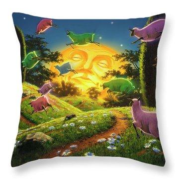Dreamland IIi Throw Pillow